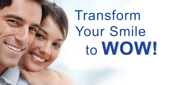 Transfor your smile to wow! with Zoom teeth whitening